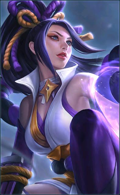 Hanabi Resplendent Iris Heroes Marksman of Skins