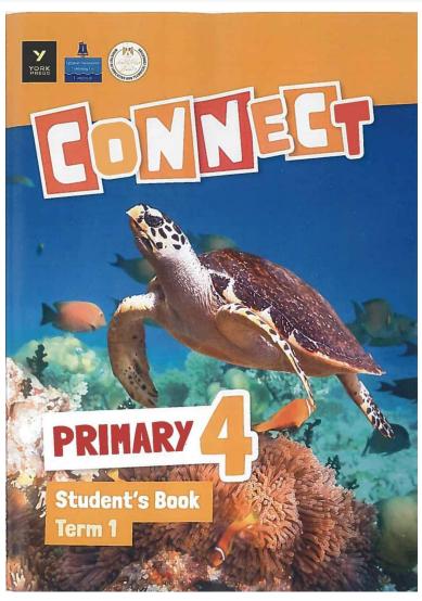 """كتاب اللغة الانجليزية """"كونكت""""للصف الرابع ترم أول  المنهج الجديد 2022"""