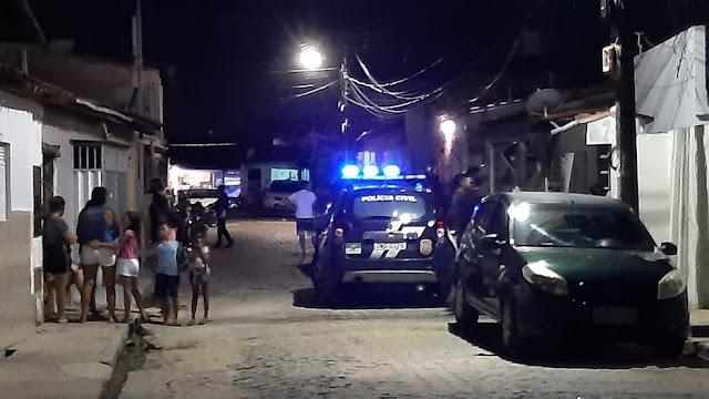 Vendedor de carros é assassinado na frente da mulher e filhos no RN