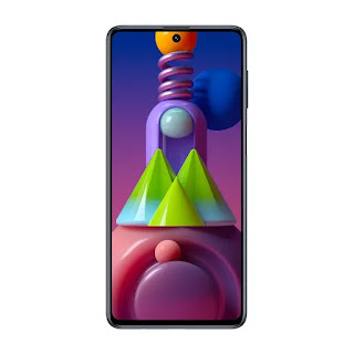"Smartphone Samsung Galaxy M51 128GB Dual Sim Tela 6,7"""