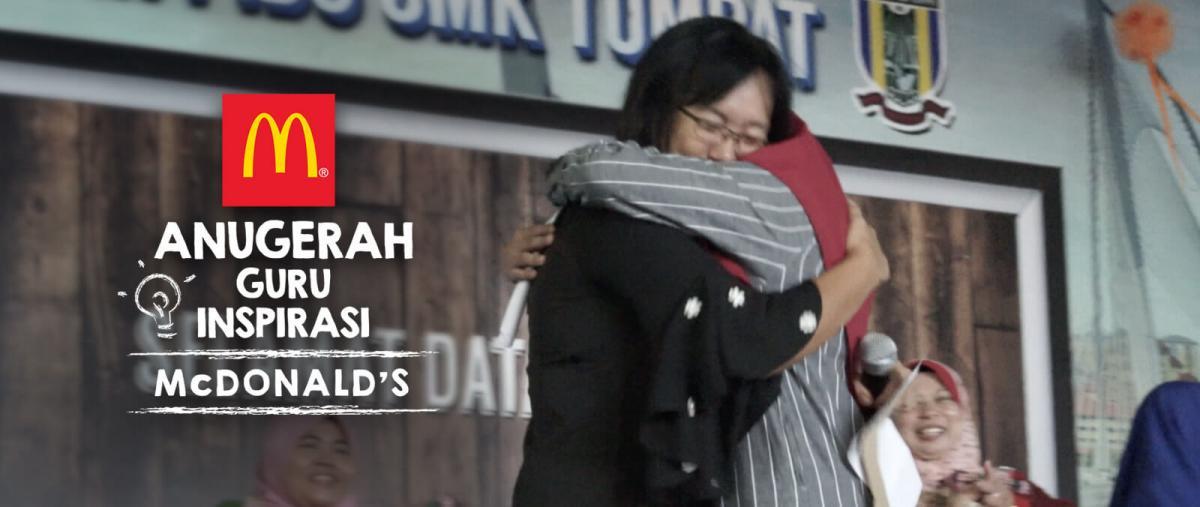 Anugerah Guru Inspirasi McDonald's Kembali Lagi - RM5,000 Cash Menanti