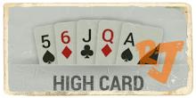 High Card IDN Poker