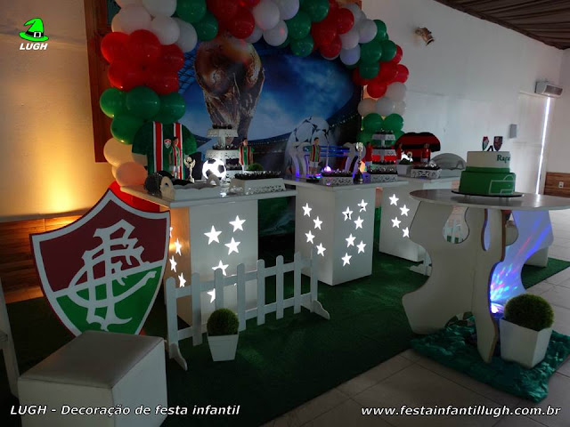 Mesa decorativa Fluminense