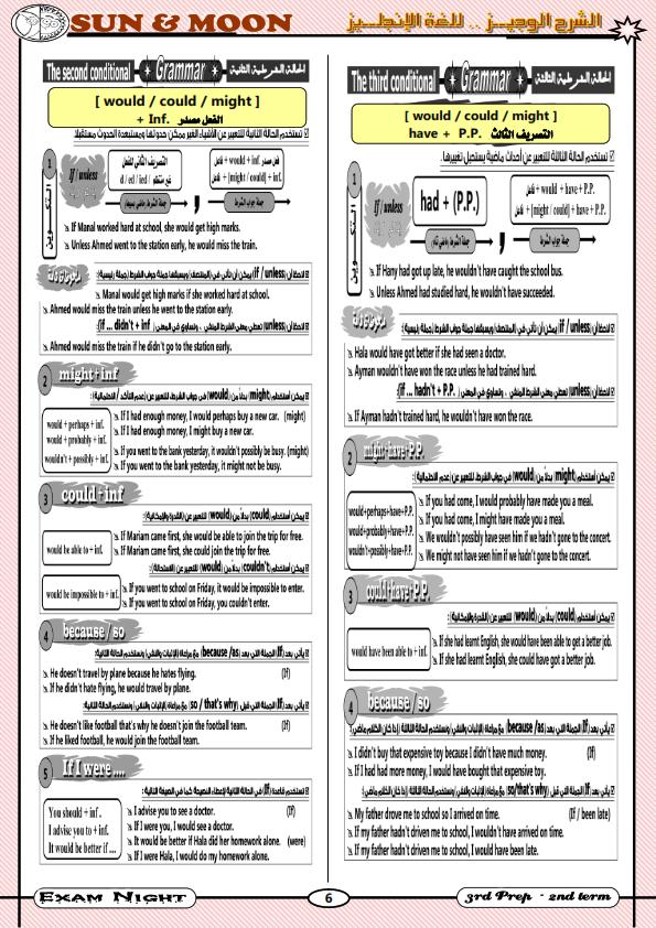أقوى مراجعات اللغة الانجليزية للصف الثالث الاعدادي الترم الثاني Exam%2BNight-%2BSUN%2526MOON_007