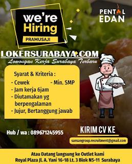 Info Loker Surabaya Terbaru di Pentol Edan Juni 2019