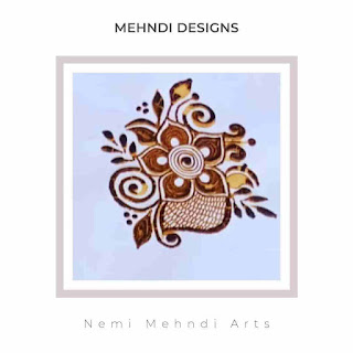 Mehandi Design Arabic