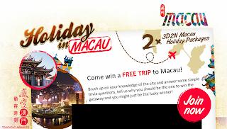 macau - CONTEST - [ENDED] Win trip to Macau!