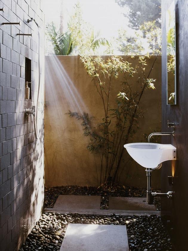 20 Sedutores Banheiros Ao Ar Livre Design Innova