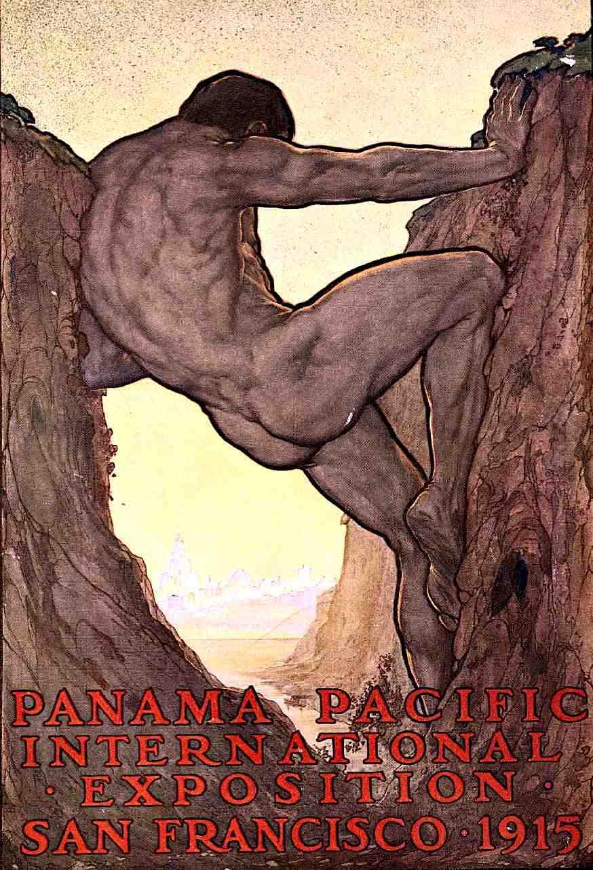1915 WORLD'S FAIR poster