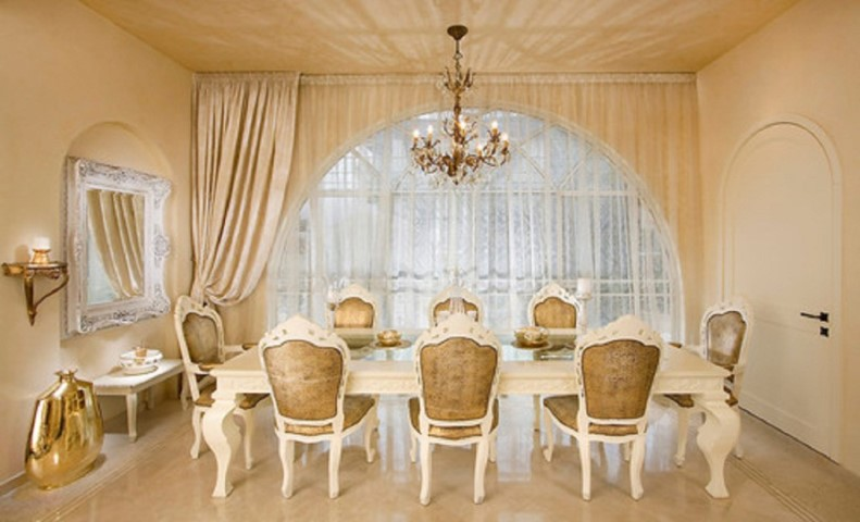 Elegant formal dining room furniture furniture design - Elegant dining room chairs ...