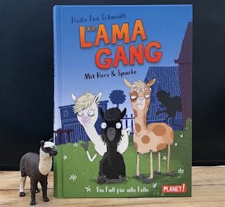 Die Lama-Gang: Mit Herz und Spucke - Ein Fall für alle Felle