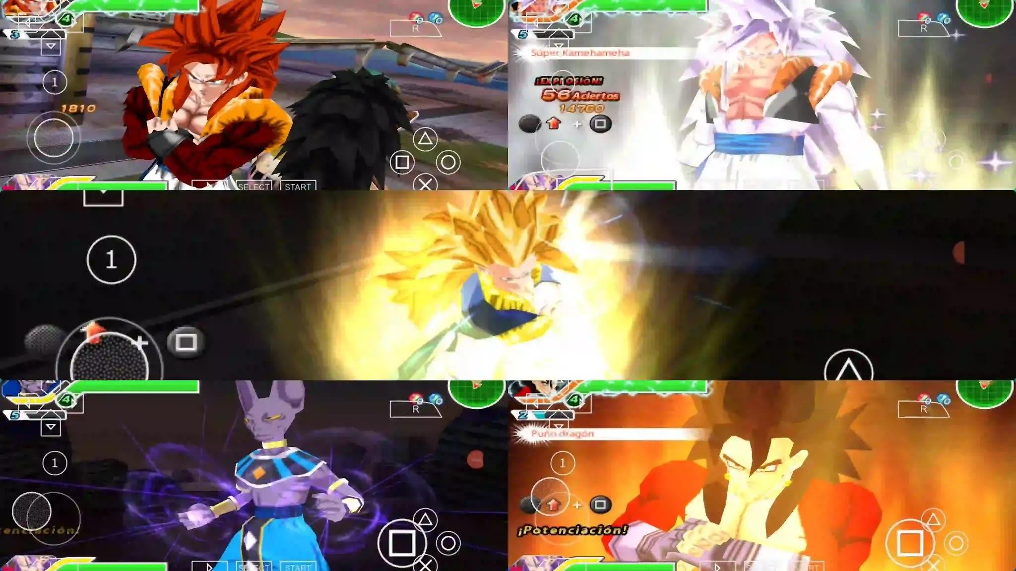 Dragon Ball GT Gogeta And Vegito Fusion