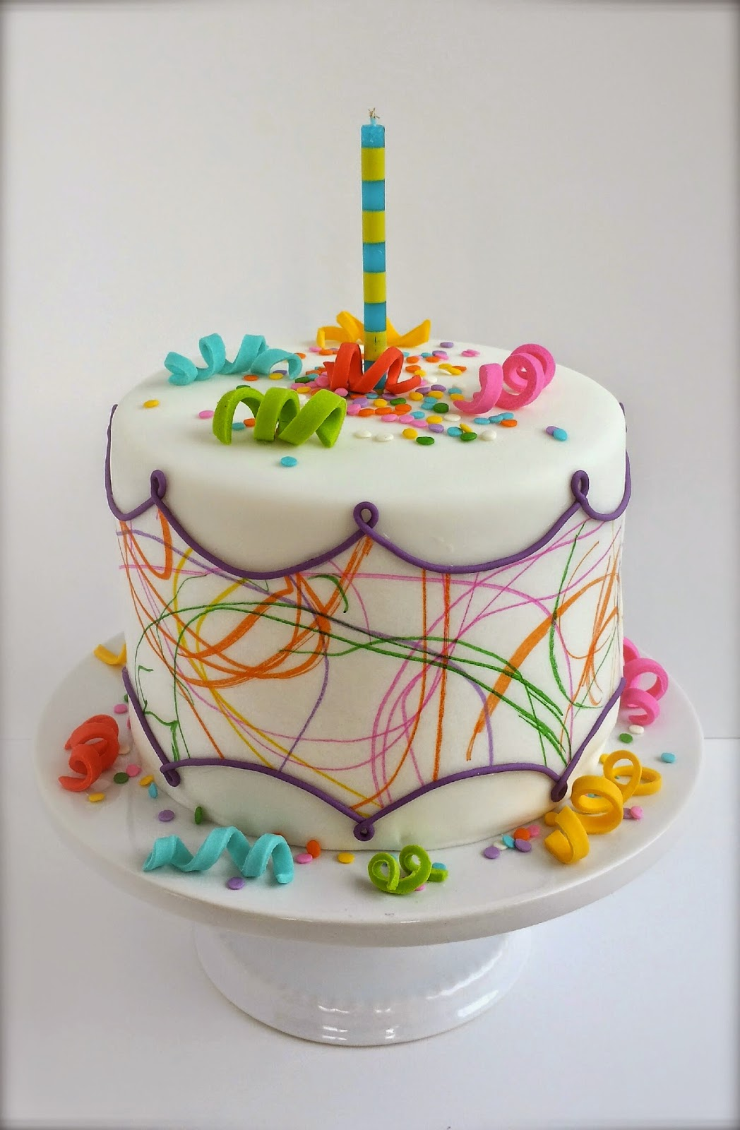 Toddler Art Cake