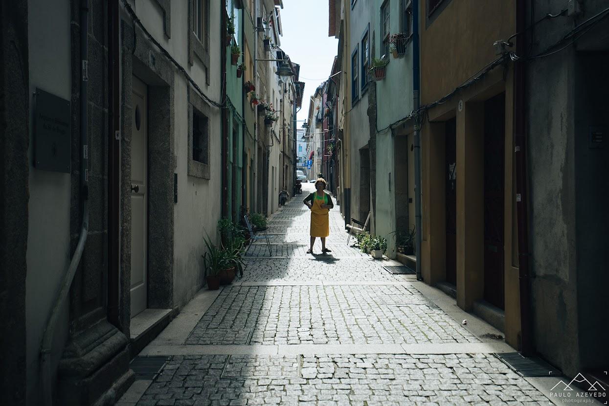 Ruela na zona da Sé de Braga