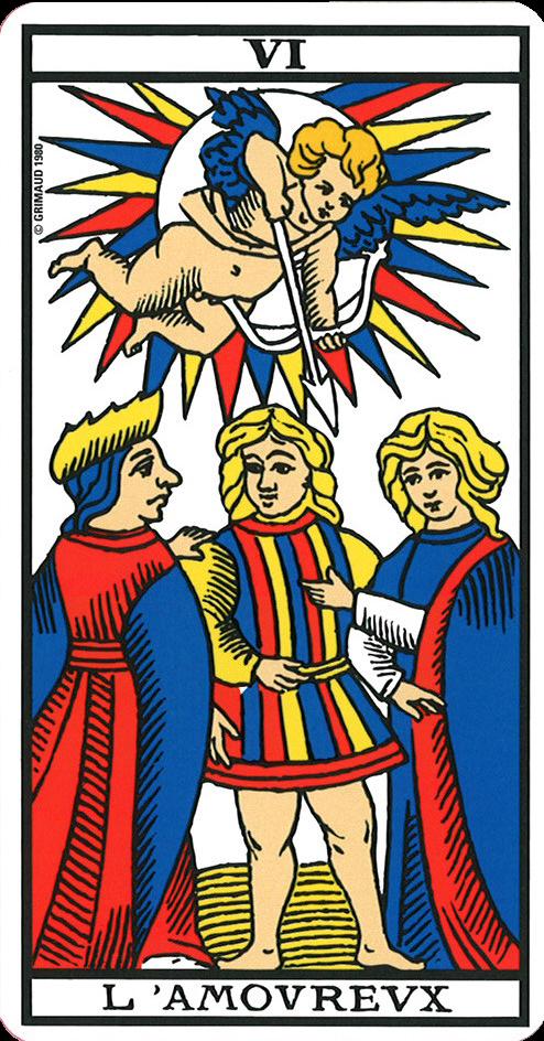 carte amoureux tarot