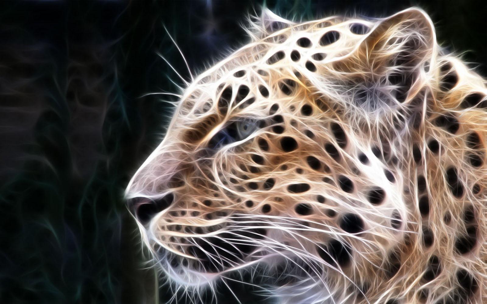 Wallpaper leopard 3d wallpapers - 3d animal wallpaper ...