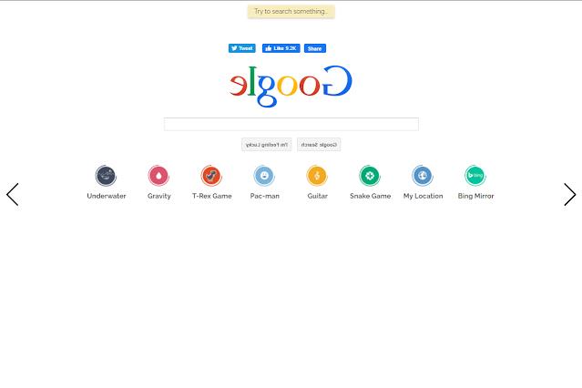 تأثير كلمة google mirror في محرك البحث جوجل