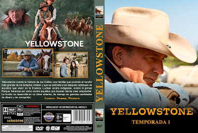 CARATULA - [SERIE DE TV] YELLOWSTONE - TEMPORADA 1 - 2018