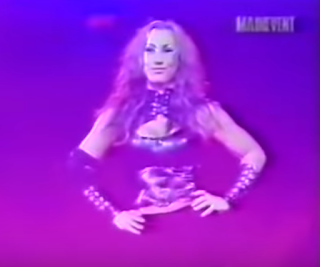 "WWA - The Inception 2001 - Adara James won a ""Skin to Win"" match"