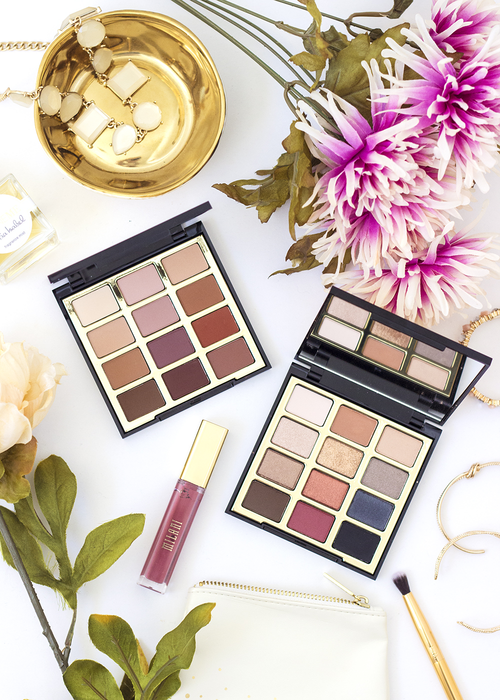 Milani Most Loved Mattes & Bold Obsessions Palettes