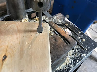 Drilling 3/4 inch holes