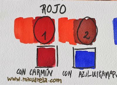"<alt=""Cómo oscurecer rojos""/>"