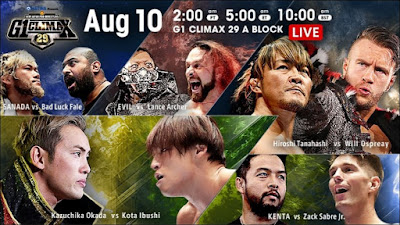 G1 Climax 29 - Night 17
