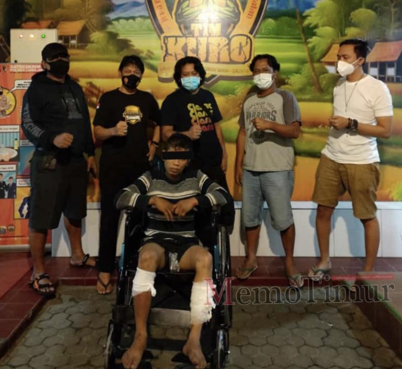 Resmob Lumajang diback up Jatanras Polda Jatim Gulung Gembong Curat 23 TKP