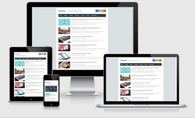 AMP For Blogger , Template Responsive ,Mobile Friendly , Accelerated Mobile Pages