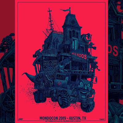 MondoCon 2019 Exclusive Screen Print by Daniel Danger