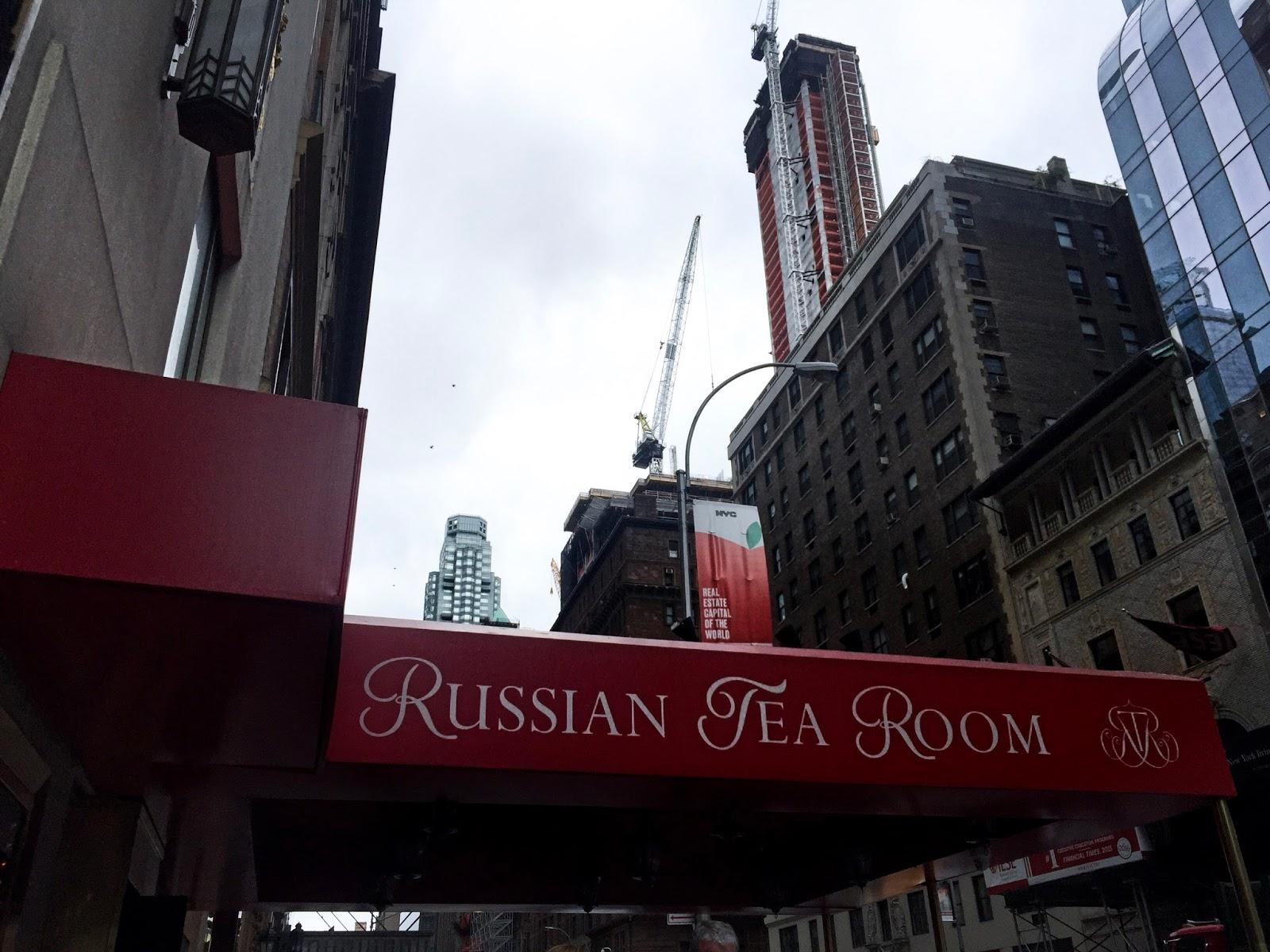 Russian Tea Room New York Gossip Girl