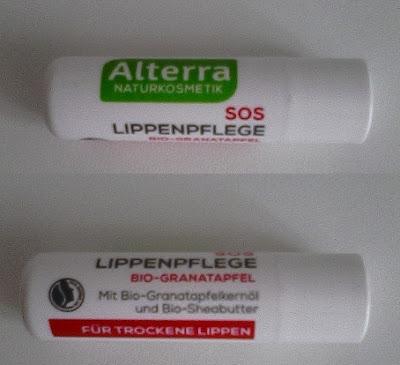 Alterra, pomadka ochronna do ust SOS, z Granatem Bio