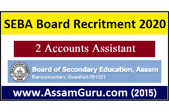 Board of Secondary Education Assam (SEBA)