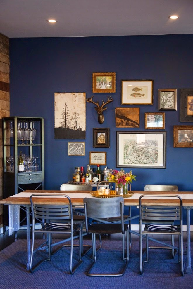 Decor Me Happy By Elle Uy: Navy Blue Walls For Living