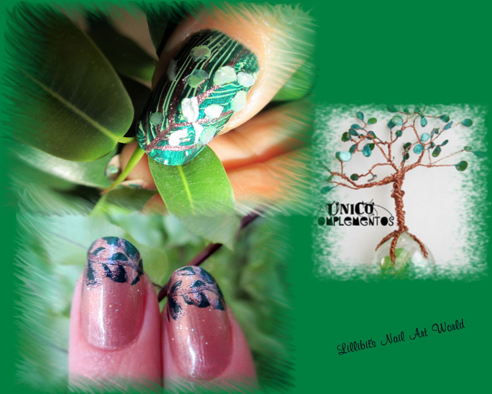 Lillibit´s Nail Art World: Árbol UC