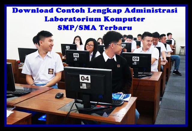 Download Contoh Aplikasi Administrasi Laboratorium Komputer SMP/SMA Terbaru