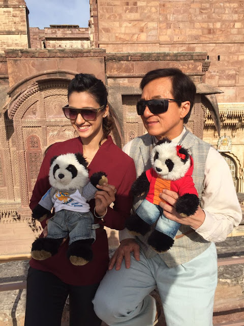 Disha patani with jackie chan in kung fu yoga