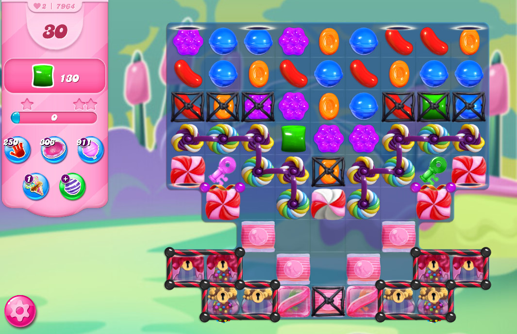 Candy Crush Saga level 7964