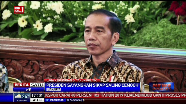 Jokowi Kritik Pengguna Medsos: Habiskan Waktu Tak Bermanfaat