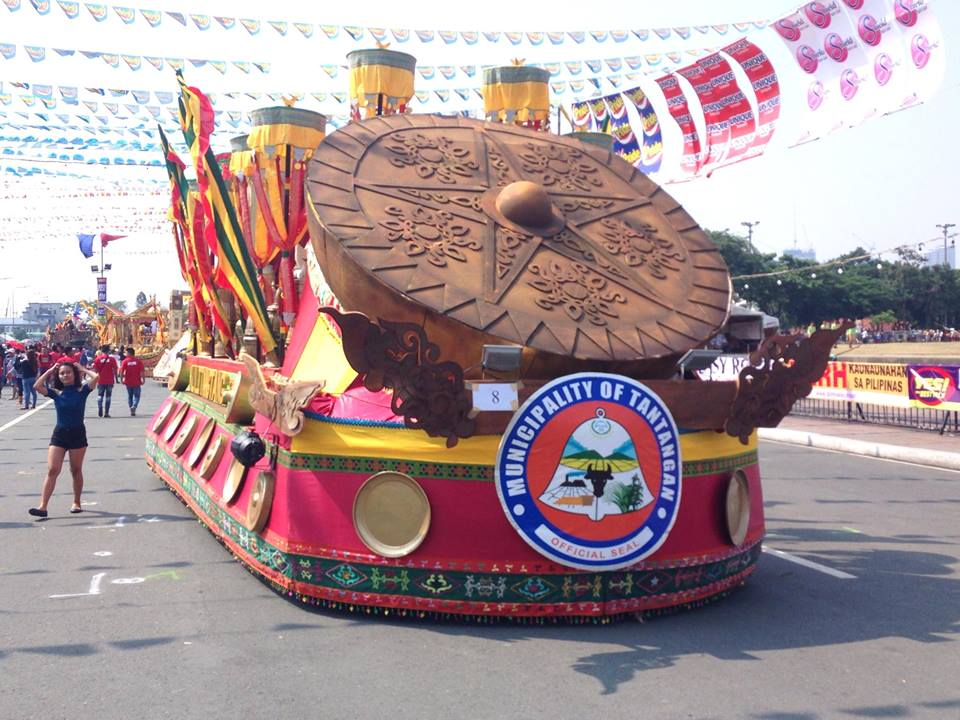 Municipality of Tantangan among runners-up in Aliwan Fiesta 2017 Float Competition