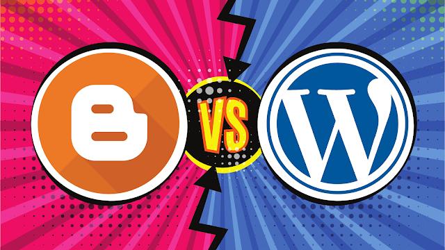 Blogger! Should You Use Blogspot or WordPress?