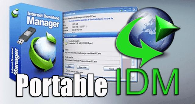 برنامج IDM الشهير بنسخة محمولة لا تحتاج للتثبيت ( Portable )