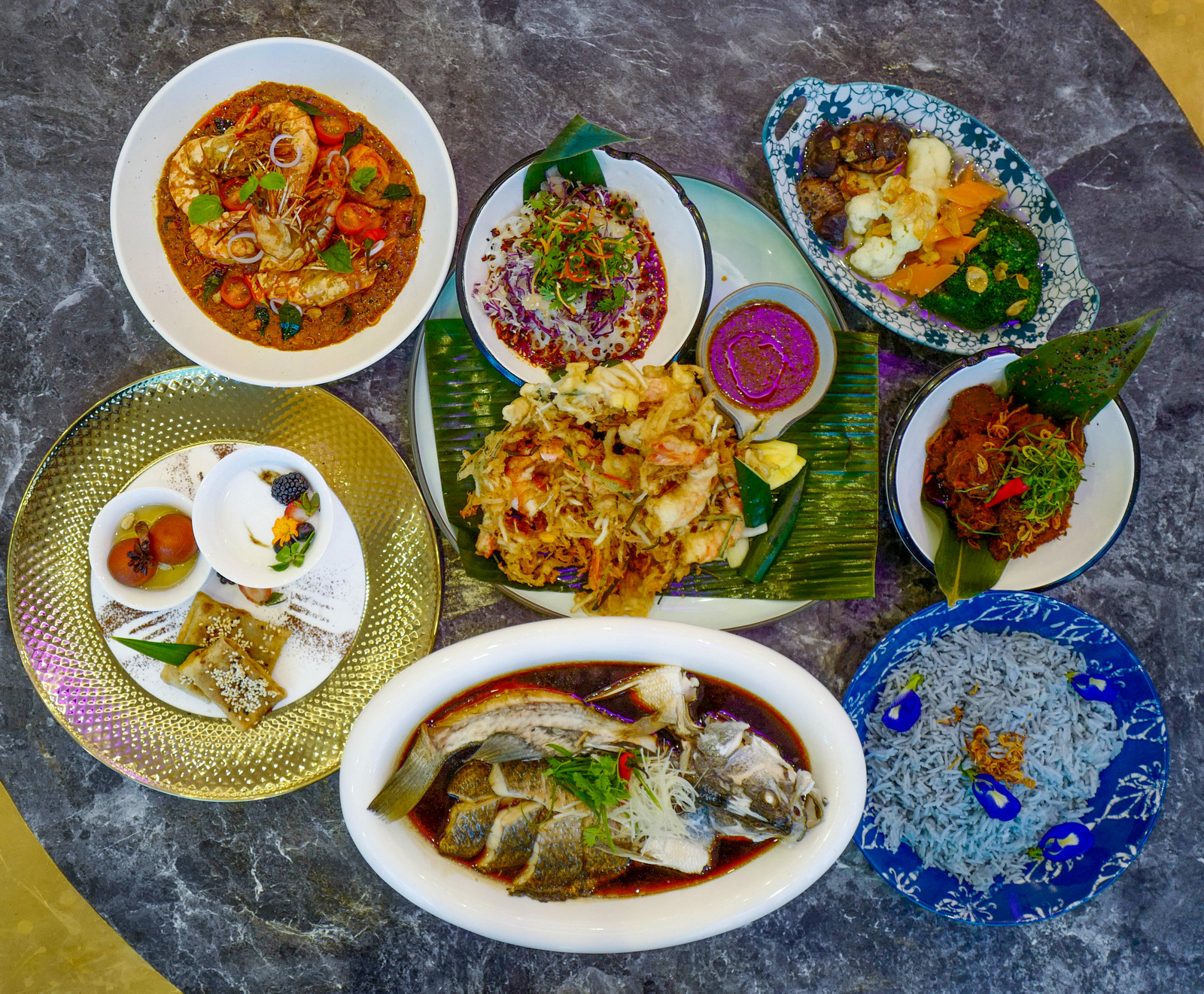 de.wan 1958 by chef wan: boss my unity menu brings malaysian flavours to the fore