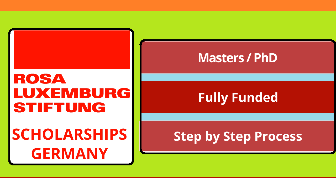 منحة روزا لوكسمبورغ Stiftung الدراسية 2022 (ممولة بالكامل)