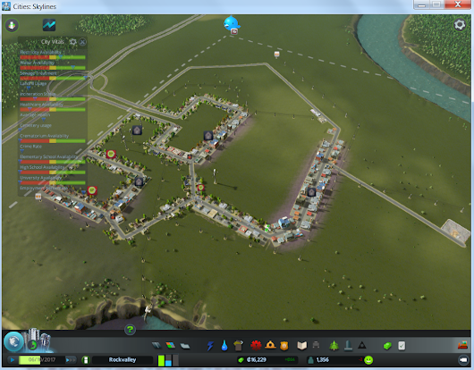 Internet of Things, PowerBI and Cities Skylines