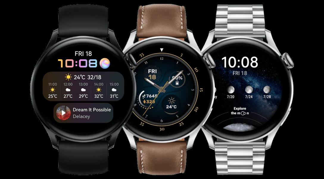 Nuovi Huawei Watch 3 e Watch 3 Pro   Video