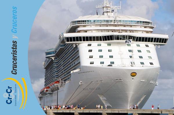 NOTICIAS DE CRUCEROS - El puerto de Cartagena ofrecerá embarques en el Royal Princess de Princess Cruises