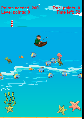 Sea fishing game android mobile app apk web collects for Fishing game android