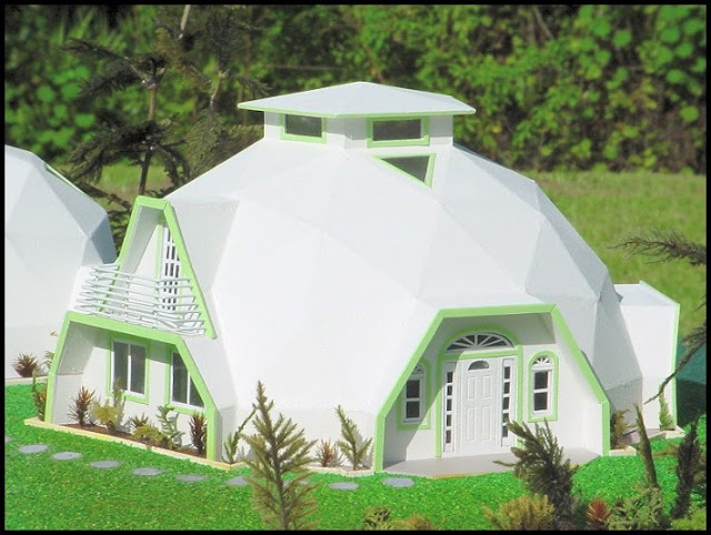 Dome Home Design Ideas: Beautiful Earth Homes And Monolithic Dome House Designs