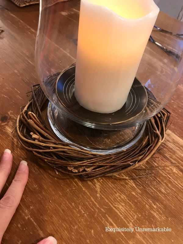 Making A Candle Ring